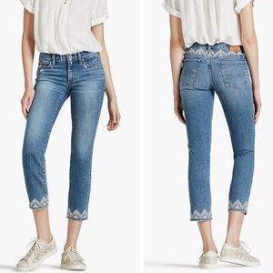 Lucky Brand-Embroidered Sweet Crop Jeans-28